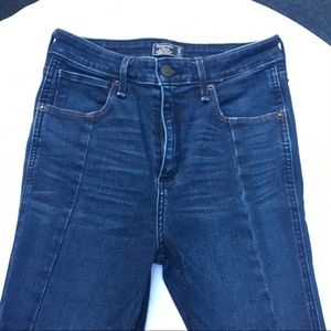 Simone high rise very skinny Abercrombie jeans